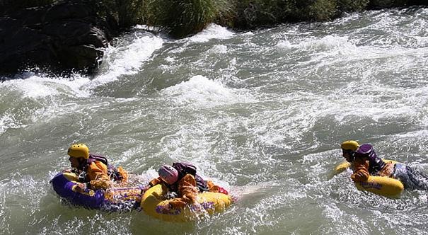 Vacaciones en Cuyo, todo el deporte aventura para gozar.
