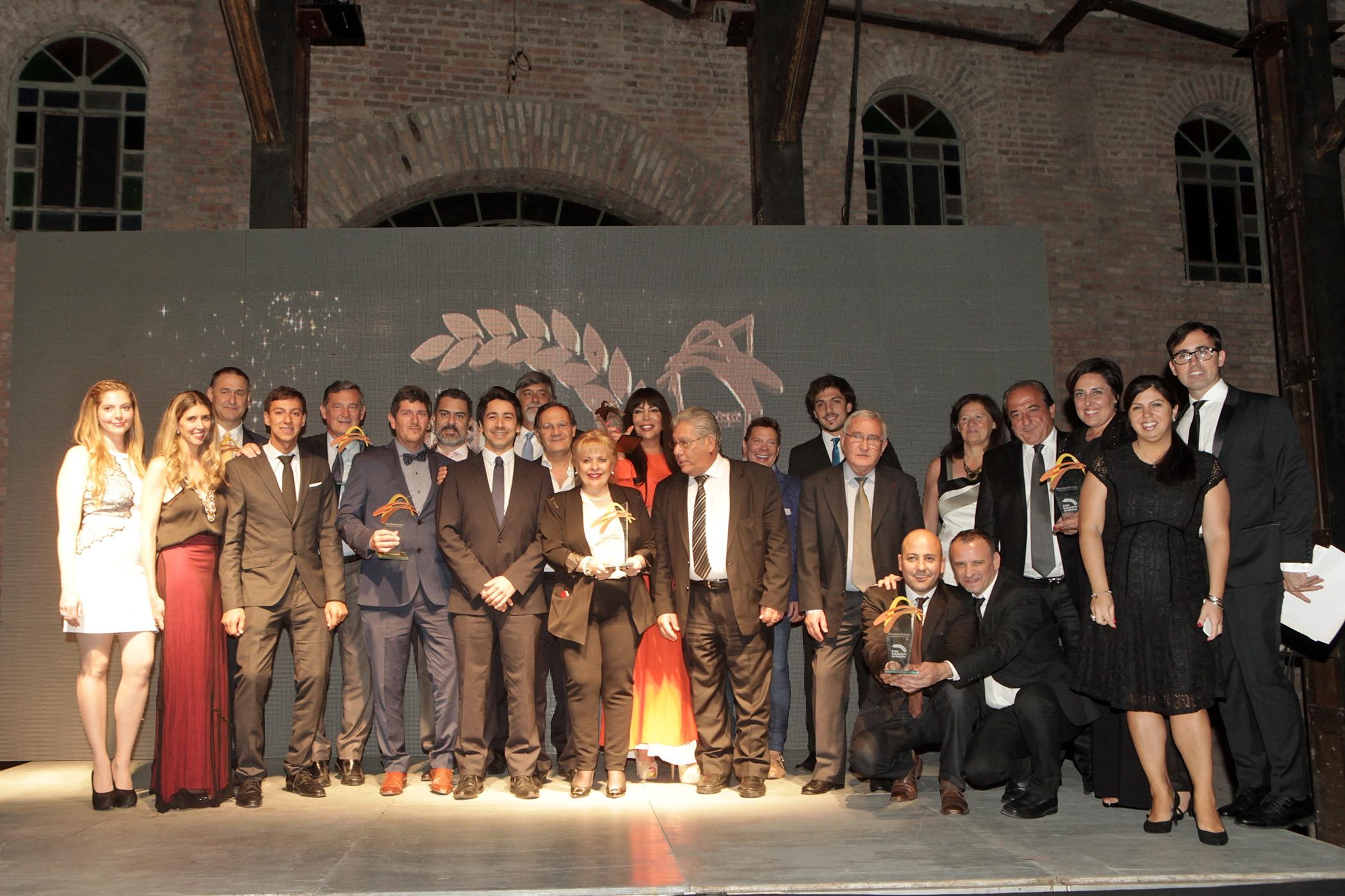 Se distinguió a los ?Embajadores? dos mil dieciseis del Turismo de asambleas en Mendoza
