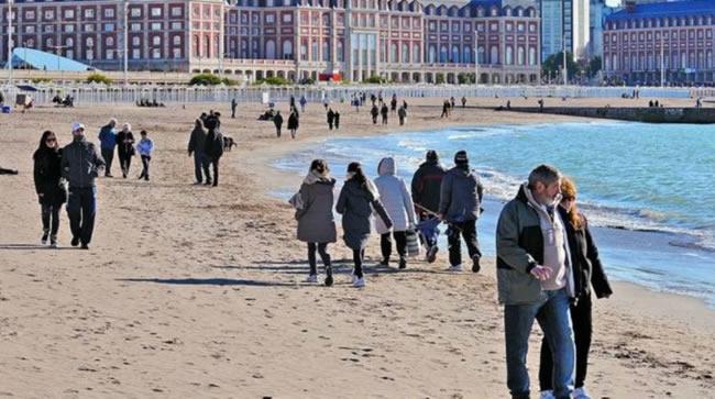 Mar del Plata relumbra en invierno