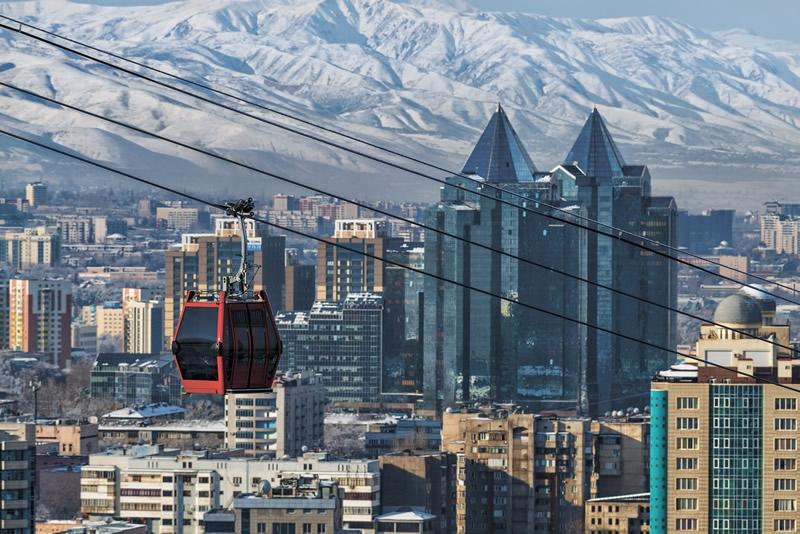 Almaty, el centro cultural que supo ser capital del país