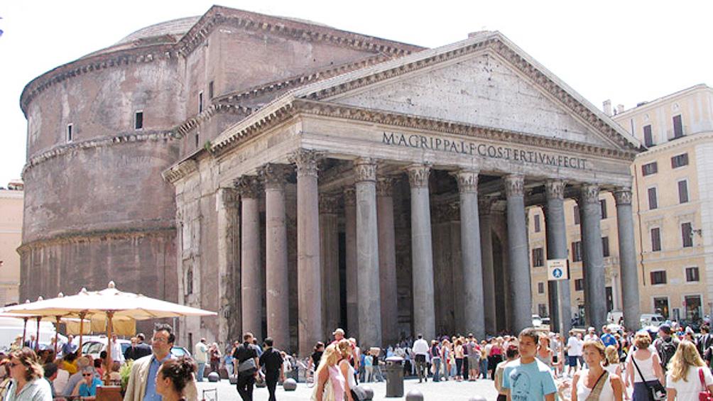 Empezarán a cobrar las visitas al Panteón romano desde dos mil dieciocho