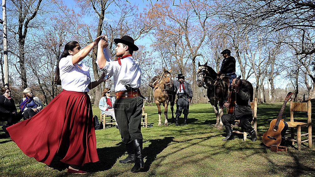 La cultura criolla festeja su celebración en San Antonio de Areco