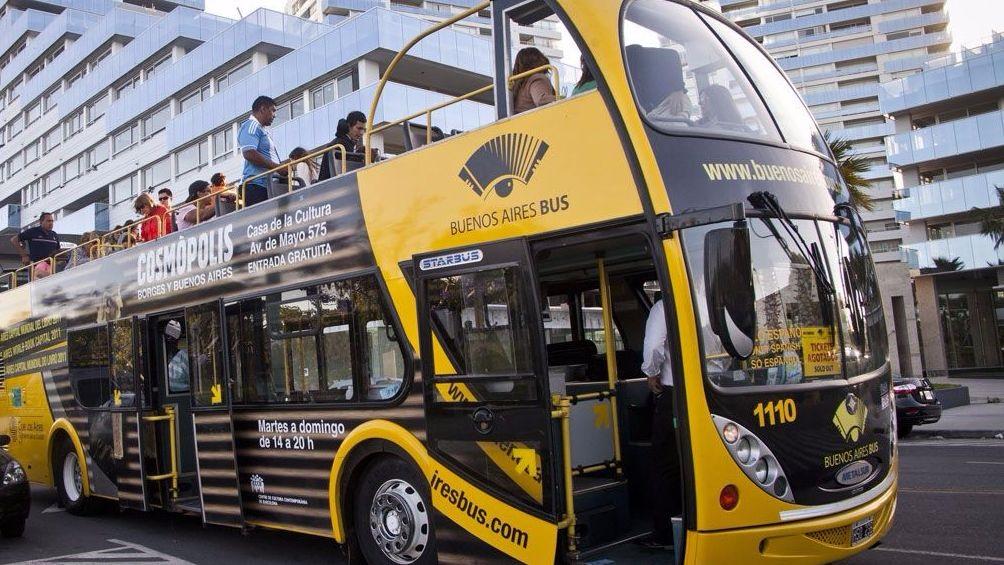 El ómnibus turístico de la urbe de Buenos Aires ya paseó a un millón de personas