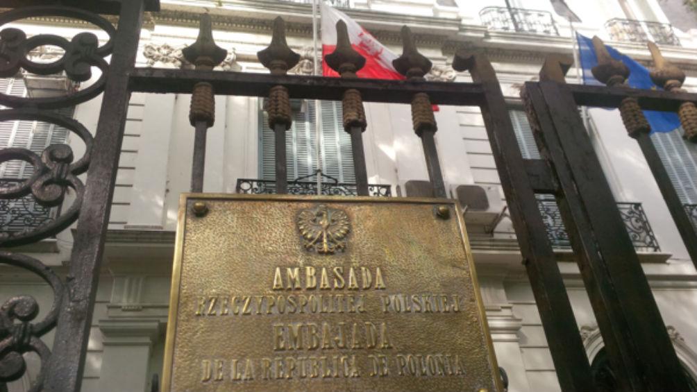 La embajada de Polonia va a abrir sus puertas para visitas guiadas