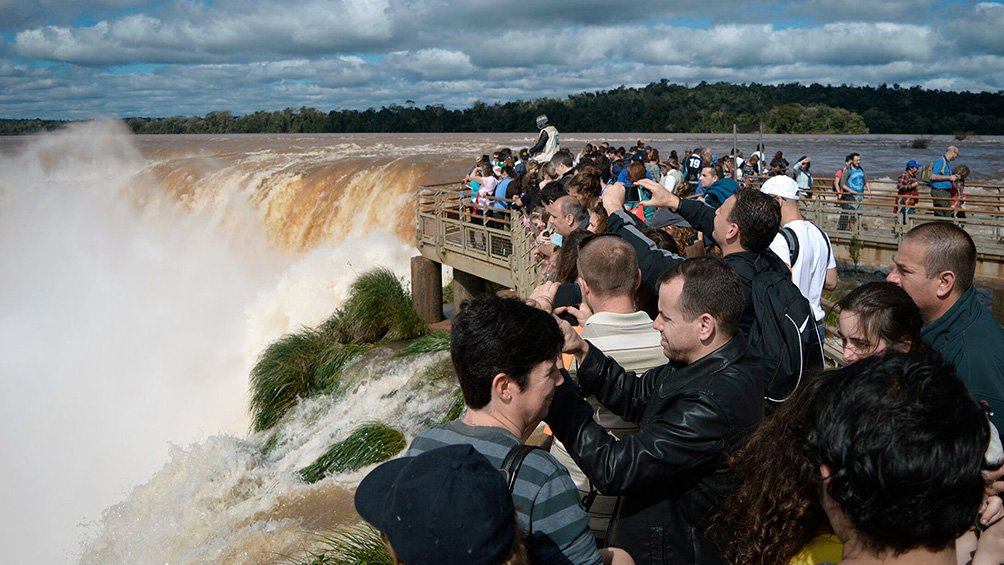 El turismo interno medró un cincuenta y uno por ciento  respecto de dos mil diecisiete
