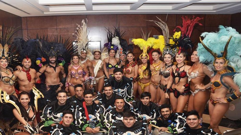 Ará yeví, con doscientos ochenta miembros, abrió ante más de veinte personas el Carnaval del País