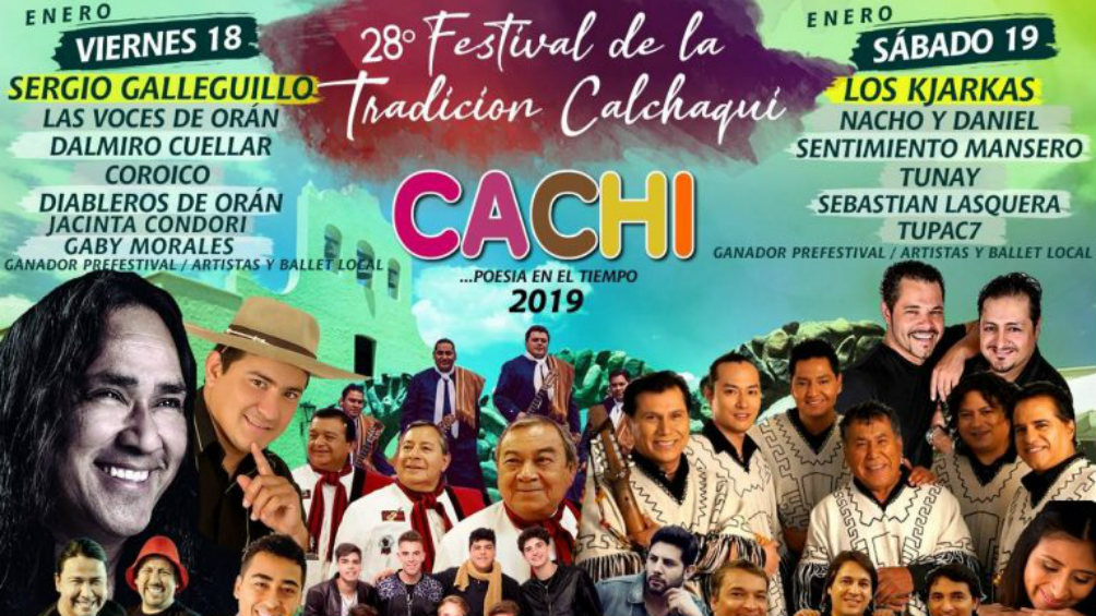 Cachi se prepara para percibir el 28° Festival de la Tradición Calchaquí