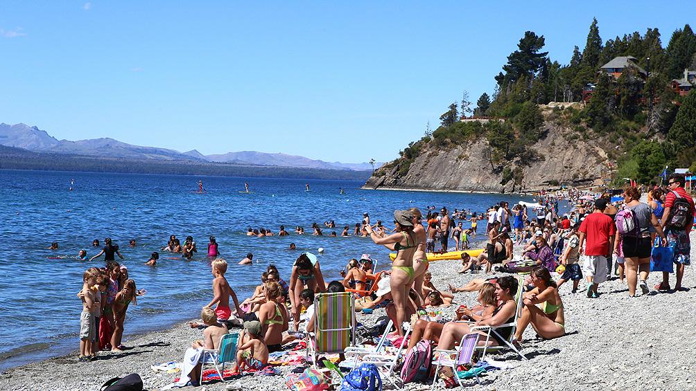 Bariloche recibió unos cien turistas en el mes de enero, con incremento de europeo
