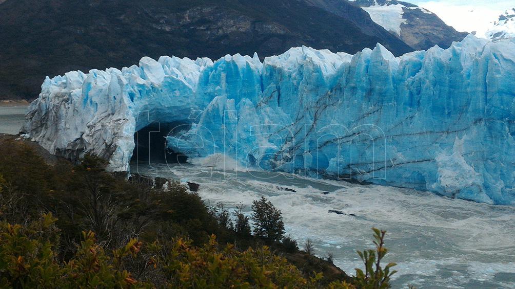 El Calafate tiene un ochenta por ciento  de ocupación hotelera por la Celebración Nacional del lago Argentino