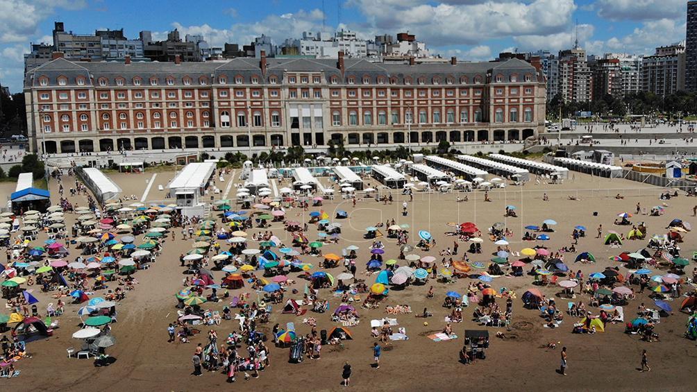 El ochenta por ciento  de las reservas para el feriado de Carnaval son para destinos argentinos
