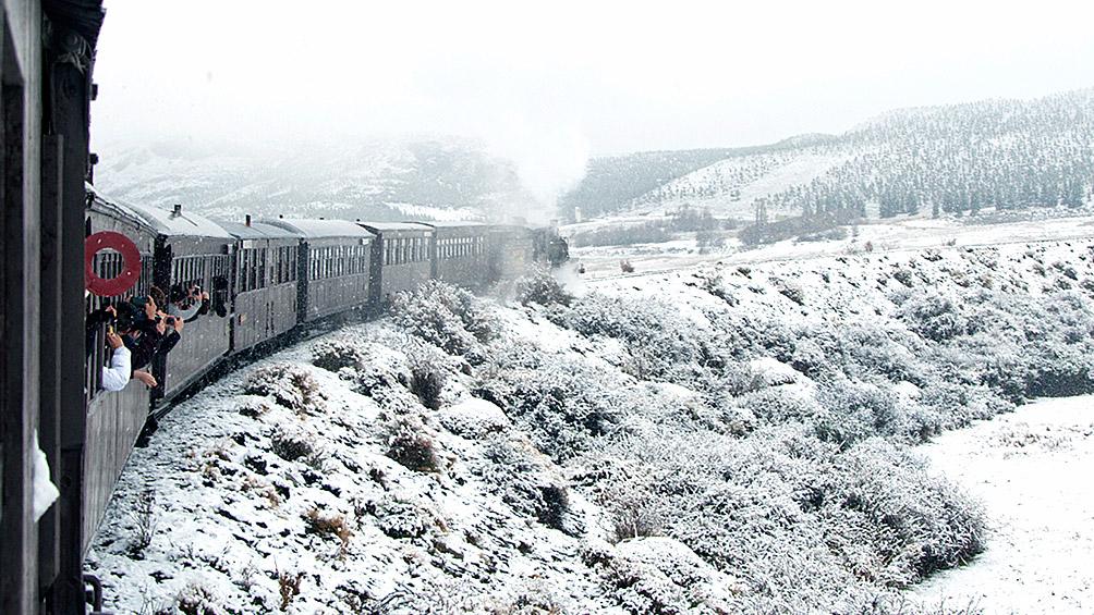 El tren turístico la Trochita va a funcionar 3 días a la semana a lo largo del invierno