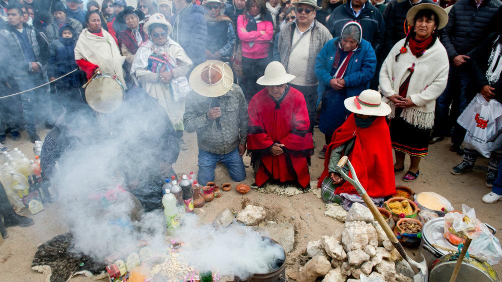 En la castigue, San Antonio de los Cobres se llenó de turistas por la celebración de la Pachamama